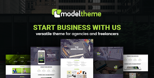 ModelTheme – Web Agency & Freelancing Theme