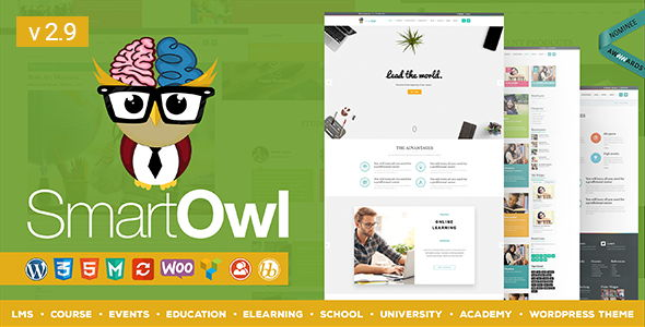 SmartOWL - LMS Education WordPress Theme + RTL