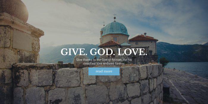 Ichthys – Church / Nonprofit / Charity WordPress Theme