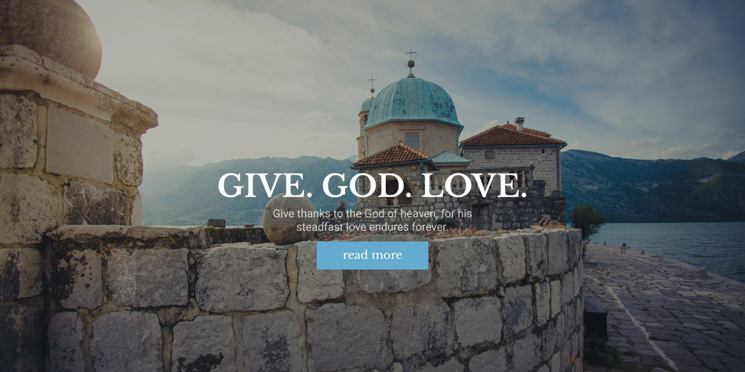 Ichthys – Church / Nonprofit / Charity WordPress Theme