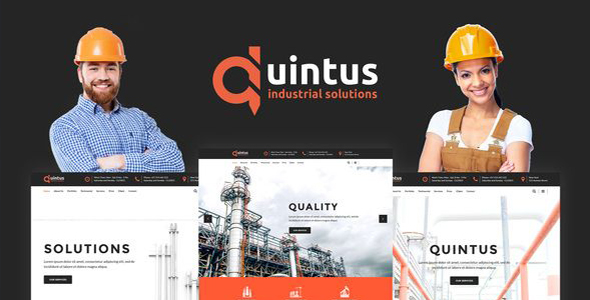 Quintus - Industrial & Engineering WordPress Theme