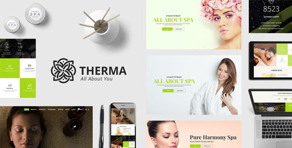 Therma - Spa, Beauty, Cosmetic WordPress Theme
