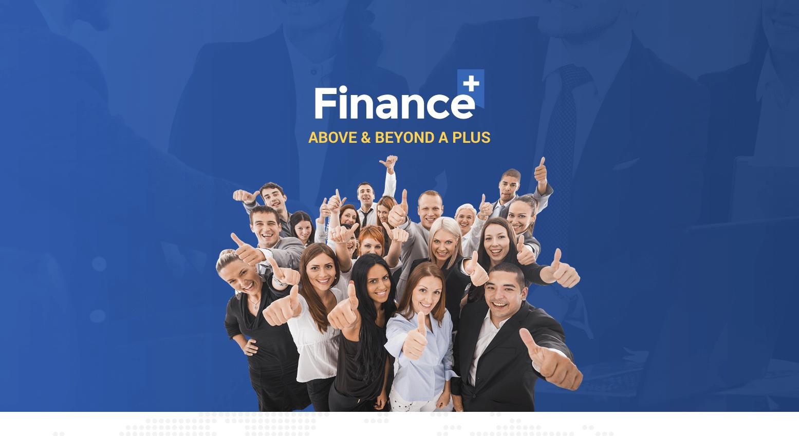 Landing Page – FinancePlus