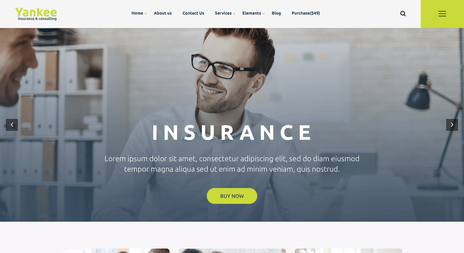 15+ Best WordPress themes for Insurance and Consulting agencies