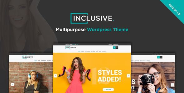 Inclusive - Multipurpose WooCommerce WordPress Theme