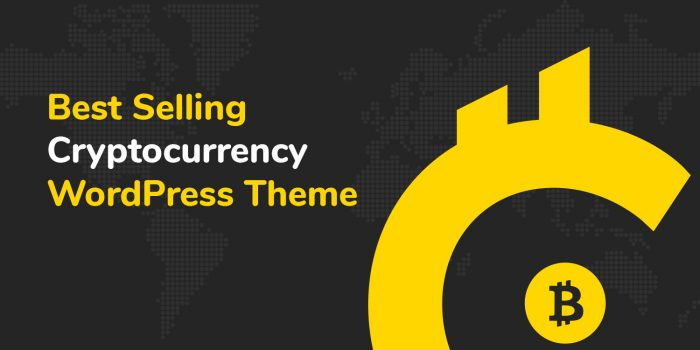 Cryptic, the best Cryptocurrency WordPress Theme
