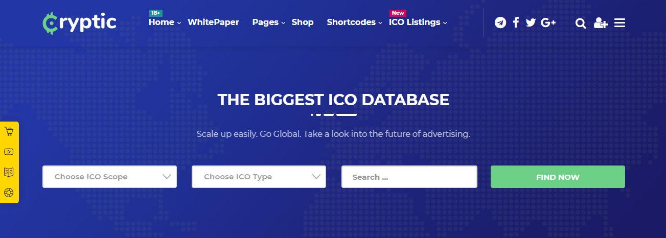 ICO WordPress Theme
