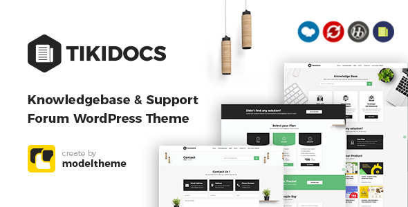 Tikidocs - Knowledgebase & Support Forum WordPress Theme + RTL