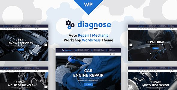 Diagnose - Auto Repair | Mechanic | Workshop WordPress Theme