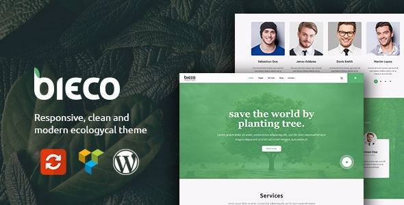Bieco – Environment & Ecology WordPress Theme