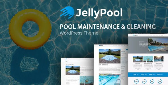 JellyPool - Pool Maintenance & Cleaning WordPress Theme