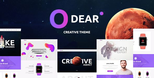 Odear - Multi-Concept Creative WordPress Theme