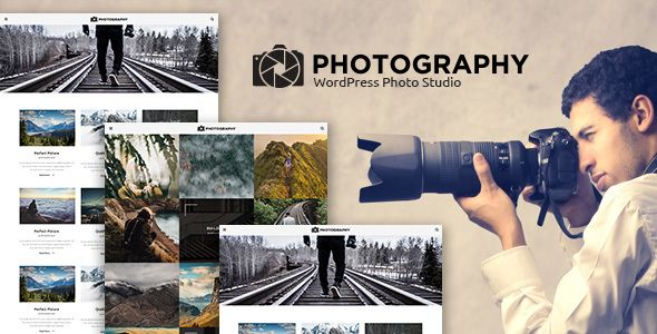 MT Photography - WordPress Theme