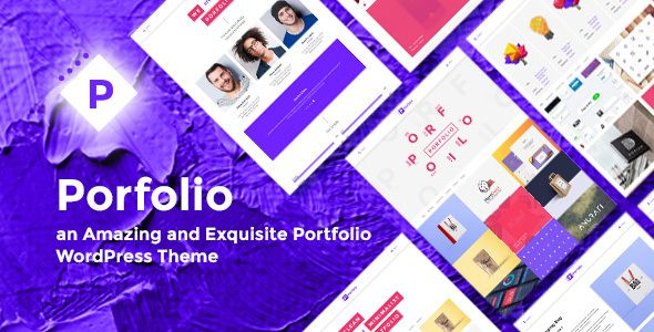 Porfolio - Creative Agency & Personal Portfolio WordPress Theme