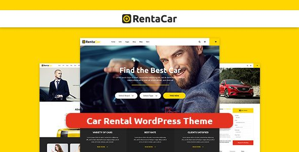 Rentacar - Car Rental / Listing WordPress Theme