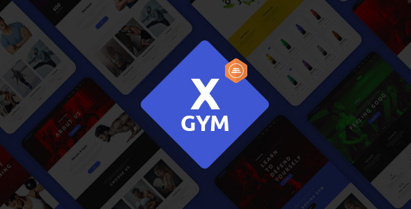X-Gym - Fitness & Sports WordPress Theme