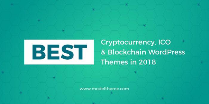 20+ Cryptocurrency, ICO & Blockchain WordPress Themes
