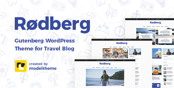 Rodberg – Travel Blog WordPress Theme