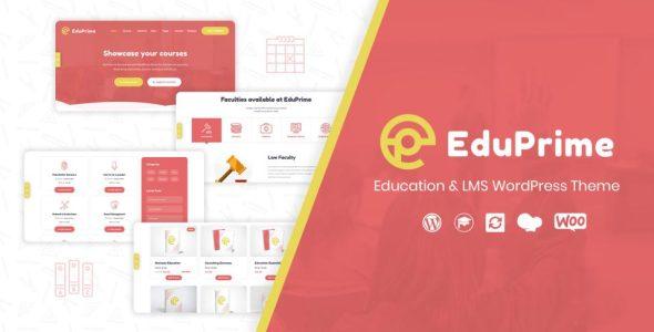 EduPrime – Education & LMS WordPress Theme