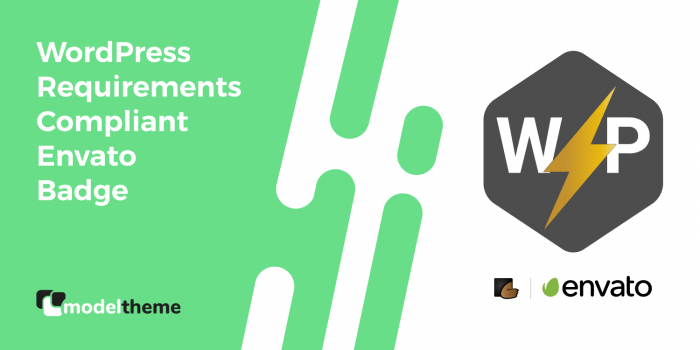 Envato WordPress Requirements Compliant Badge Awarded!