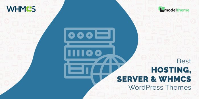 Best Hosting, Server & WHMCS WordPress Themes