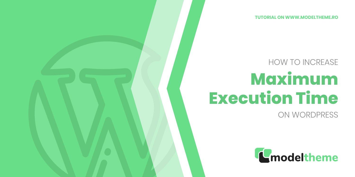 How to increase Maximum Execution Time on WordPress