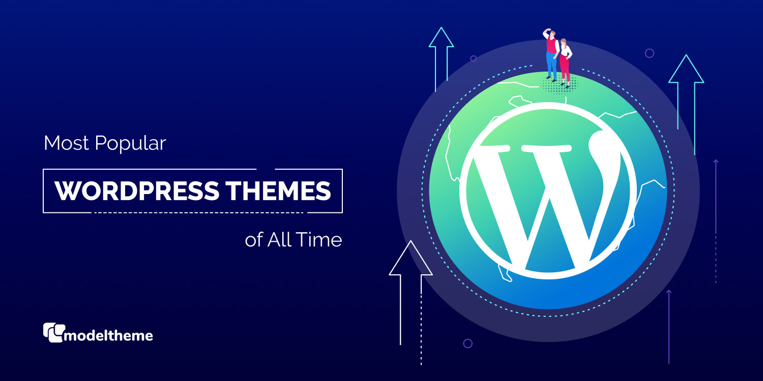 Most Popular WordPress Themes of All Time