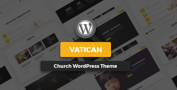 Vatican – Church WordPress Theme