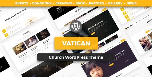 Vatican - Church WordPress Theme