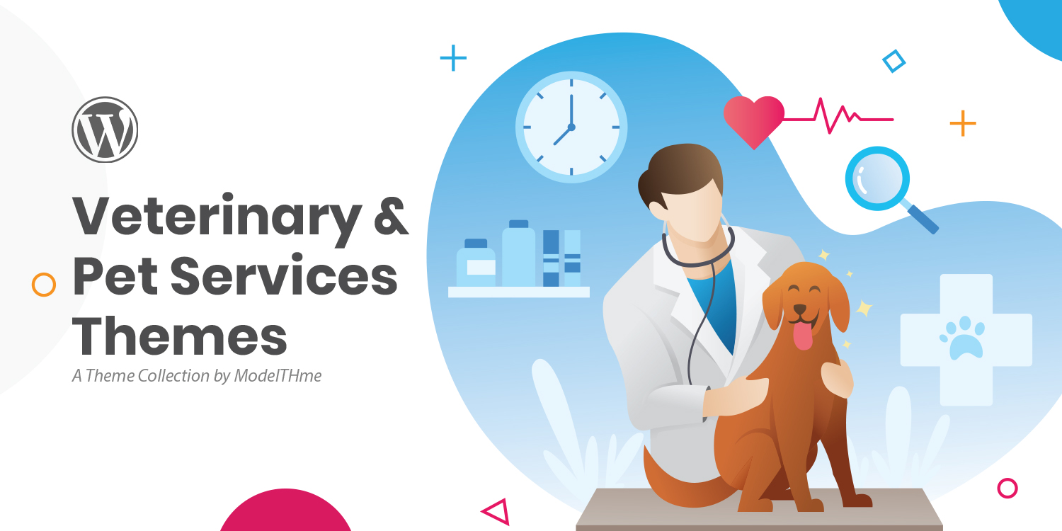 Best Veterinary and Pet Services WordPress Themes
