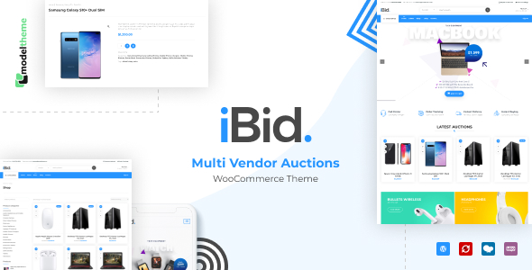 iBid - Multi-Vendor WordPress Auction Theme