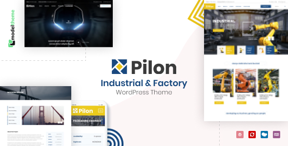 Pilon - Industrial & Factory WordPress Theme