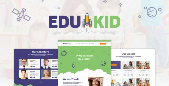 Edukid – Kindergarten & Education Theme