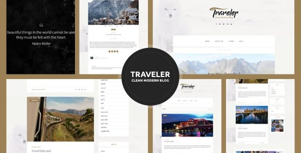 Traveler – Travel Blogger Theme