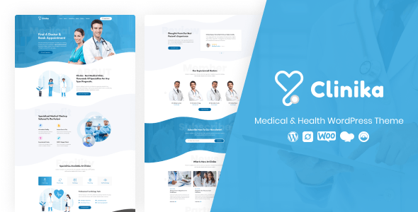 Clinika – Medical Clinic WordPress Theme