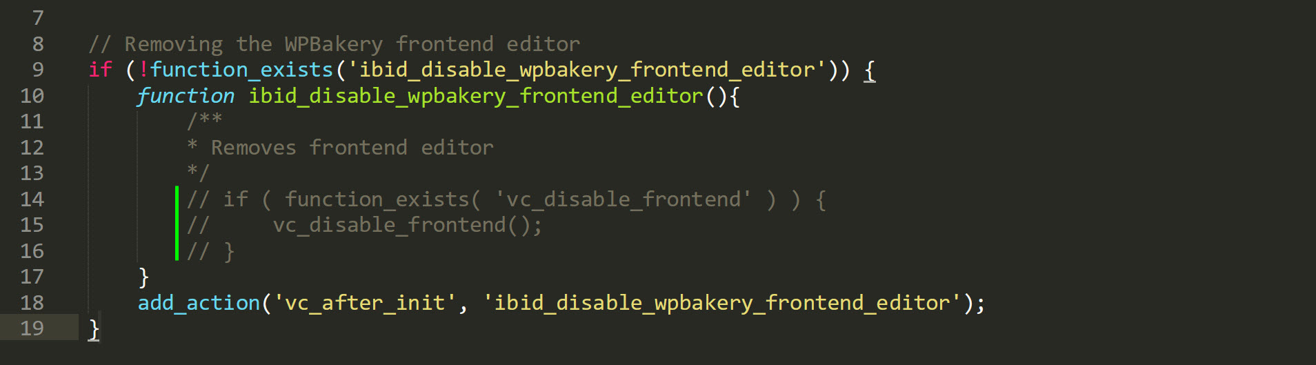 WPBakery Frontend Editor