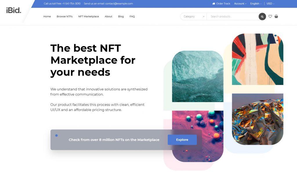 ibid nft marketplace